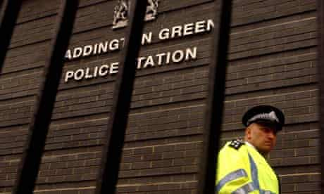 Police station, UK