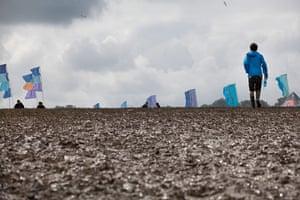 Glastonbury: A muddy Dance Village, Glastonbury Festival
