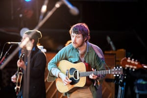 Glastonbury: Fleet Foxes on The Other stage, Glastonbury festival