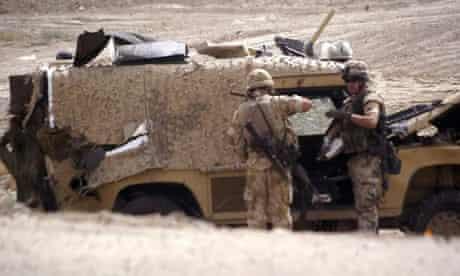 Snatch Land Rover in Basra