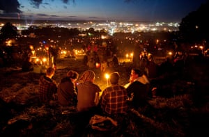 Glastonbury 2011: The view from the stone circle
