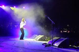 Glastonbury 2011: Primal Scream's Bobby Gillespie on the Other stage