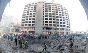 Beirut car bomb kills former Lebanese prime minister