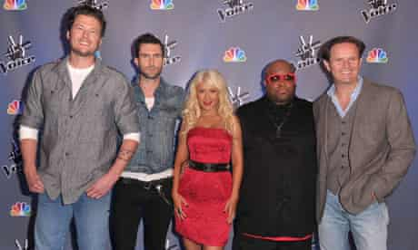 The Voice juding panel