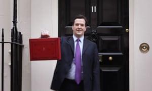 George Osborne prepares to give Budget