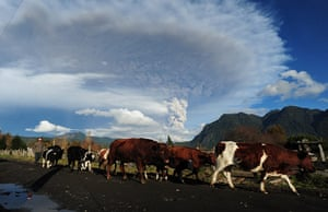 Volcano eruption in Chile: Volcano eruption in Chile