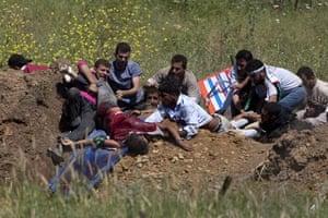 Israel-Syria border clash: Israel-Syria border clash