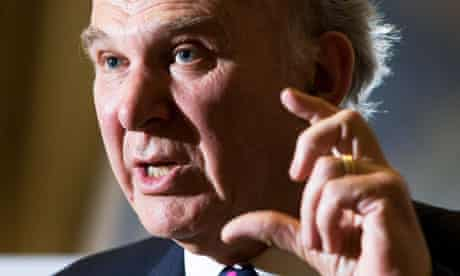 Vince Cable warns public sector unions over strike action.