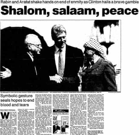 Middle East peace agreement