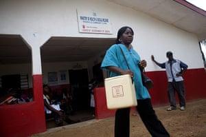 Vaccination: in Liberia