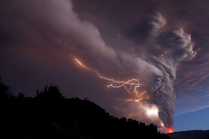 Chile volcano eruption - in pictures   World news   The Guardian