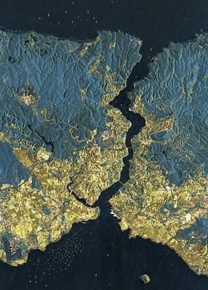 Satellite Eye on Earth: Istanbul is one of the world's megacities