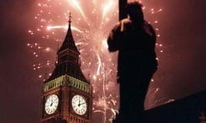 MILLENIUMBigBen/Fireworks