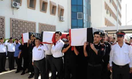 Syria policemen