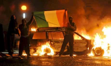 12 July riots in Belfast