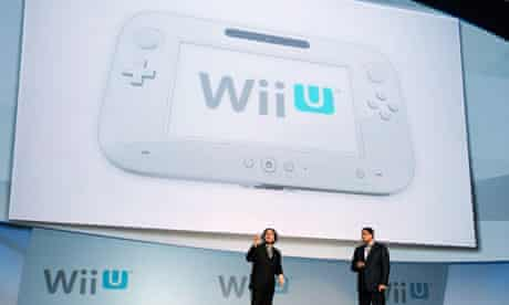 The Nintendo Wii U unveiled in California