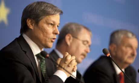 Dacian Ciolos, EU agriculture and rural development commisioner