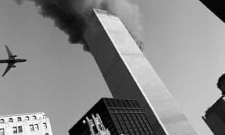 Plane Flying into World Trade Center