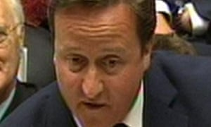 David Cameron hit back at claims of a 'complete mess' in justice and health reforms