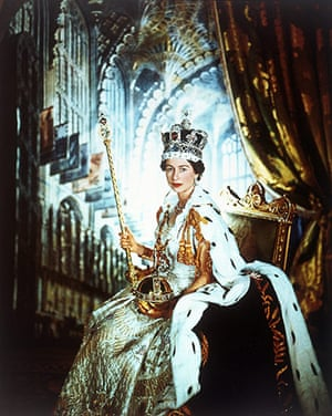 V&A Queen Portraits: Queen Elizabeth II in Coronation Robes