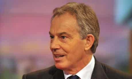 Tony Blair Appears On The BBC Breakfast