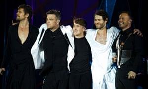 Take That Tour, Progress Live 2011 - Opening Night