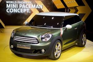 Mini Cooper: The (BMW) Mini Cooper Paceman concept car