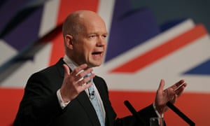 William Hague tony blair eu presidency