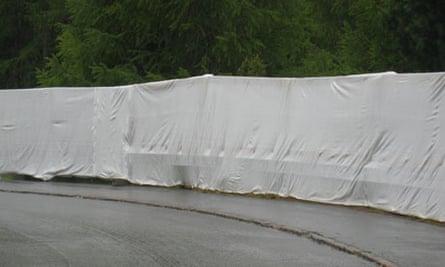 Bilderberg 2011 security fence