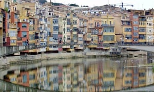 Girona, Spain, where the thief would board the airport bus to Barcelona