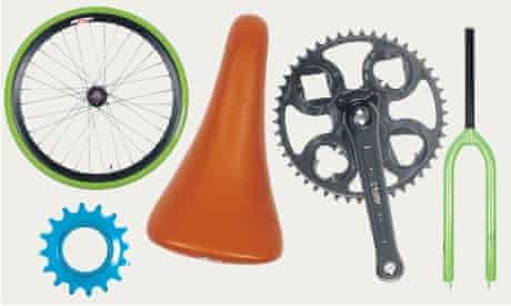 Bike parts.