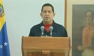 Hugo Chavez addresses the nation