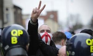 EDL rally Luton
