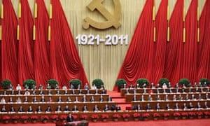 Hu Jintao delivers speech in Beijing