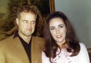 Liz Taylor Book: Marlon Brando & Elizabeth Taylor