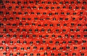 Communist Party 90th: Choir sings songs, 90th anniversary of Communist Party