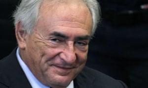 Dominique Strauss-Kahn appears at Manhattan criminal court on 6 June 2011.