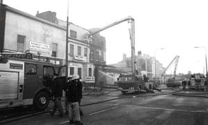 Toxteth Riots: Firemen