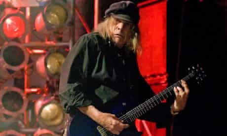 Motörhead guitarist Michael 'Würzel' Burston