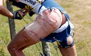 cycling: Vacansoleil-DCM rider Hoogerland