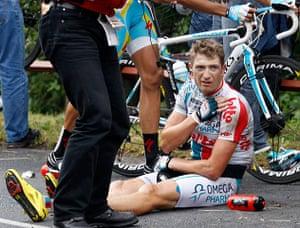 tour de france: Omega Pharma Lotto rider Willems