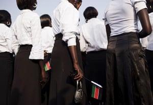 FTA: David Azia: Choir members gather ahead of independence celebrations in Juba