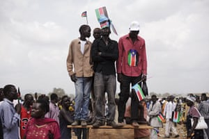 FTA: David Azia: People attend independence celebrations in Juba