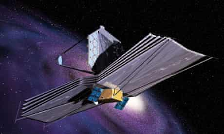 Artist's impression of the James Webb Space Telecope