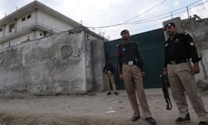 Osama bin Laden's compound in Abbottabad