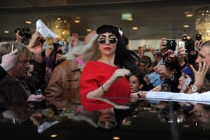 24 hours in pictures: Lady Gaga in Sydney