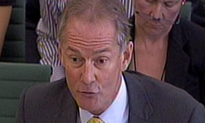 Andy Hayman in front of the Commons home affairs committee