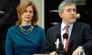 Gordon Brown and Sarah Brown
