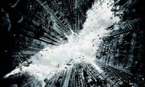 Teaser poster for Batman film The Dark Knight Rises