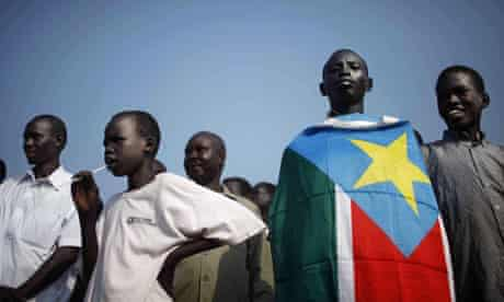 Independence day celebrations in Juba, South Sudan